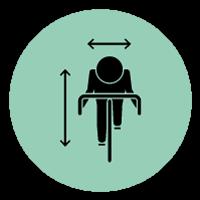 la belle equipe biomeccanica biciclette A Pisa