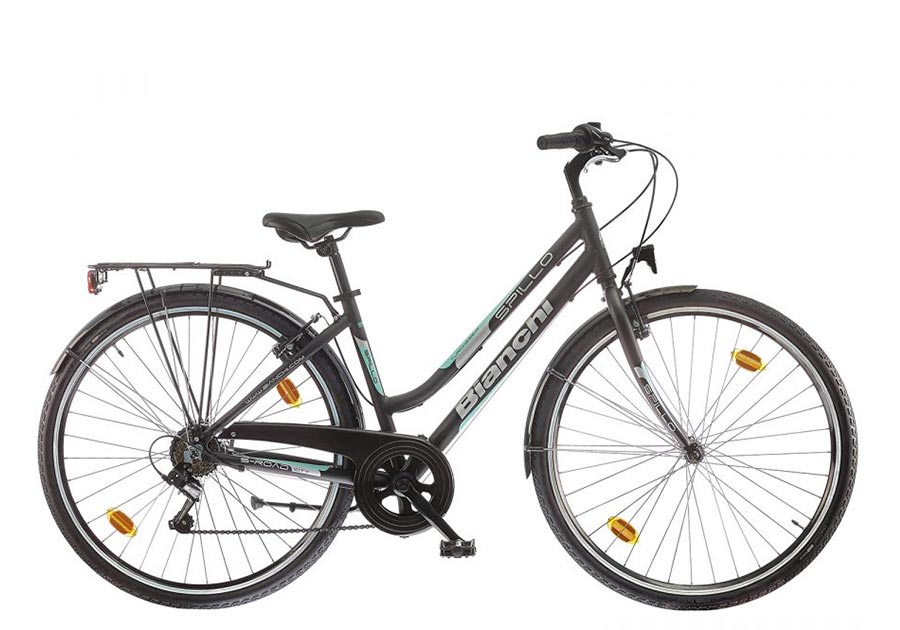 City bike rental:Bianchi Spillo Lady